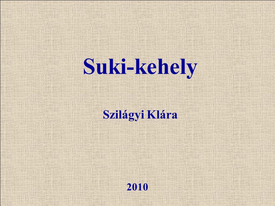 Suki-kehely Szilágyi Klára 2010