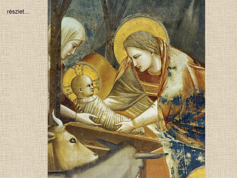 Giotto di Bondone Jézus születése (1304-06)