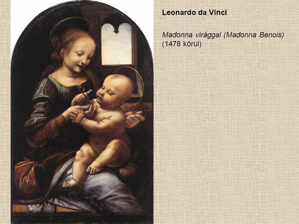 Sandro Botticelli Madonna és gyermek nyolc angyallal (1478 körül)