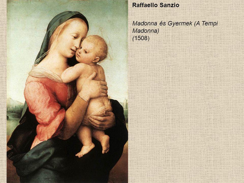Giorgione Madonna és gyermek (1505 körül)