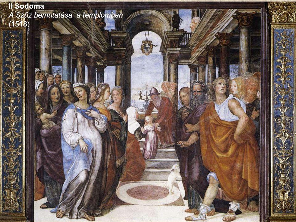 A Szűz bemutatása a templomban