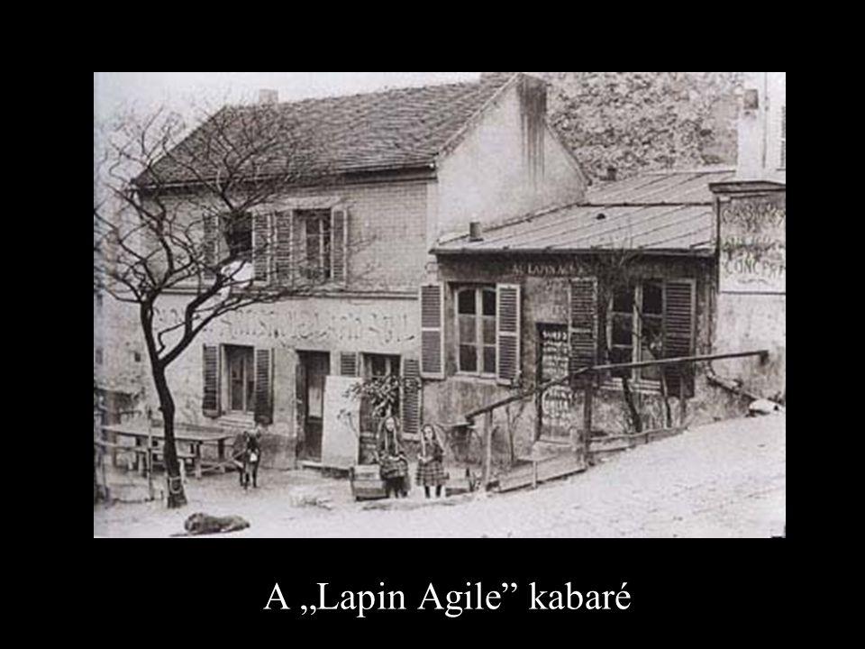 "A ""Lapin Agile"" kabaré"