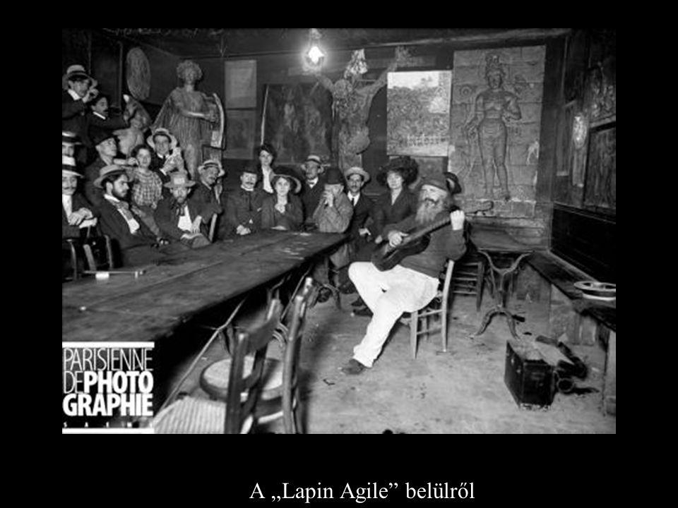 """A A """"Lapin Agile"""" belülről"""