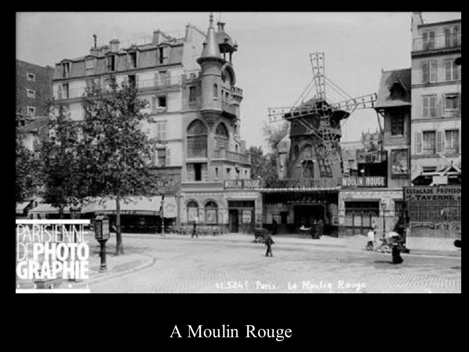 A Moulin Rouge