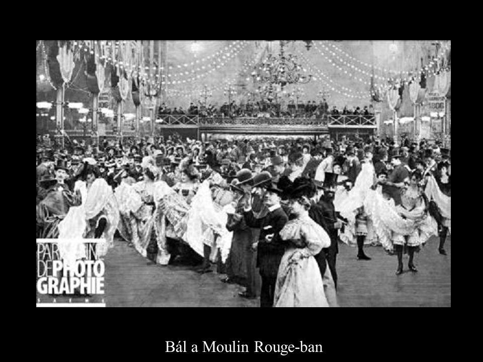 Bál a Moulin Rouge-ban