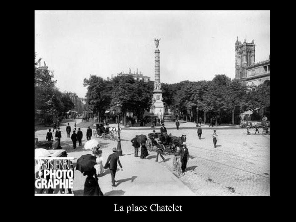 La place Chatelet