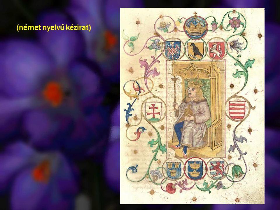 Mátyás és Beatrix a Hieronymus codexben