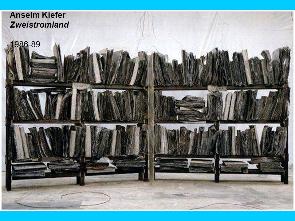 Anselm Kiefer, Volkszählung, 1991. Image: ncf.ca