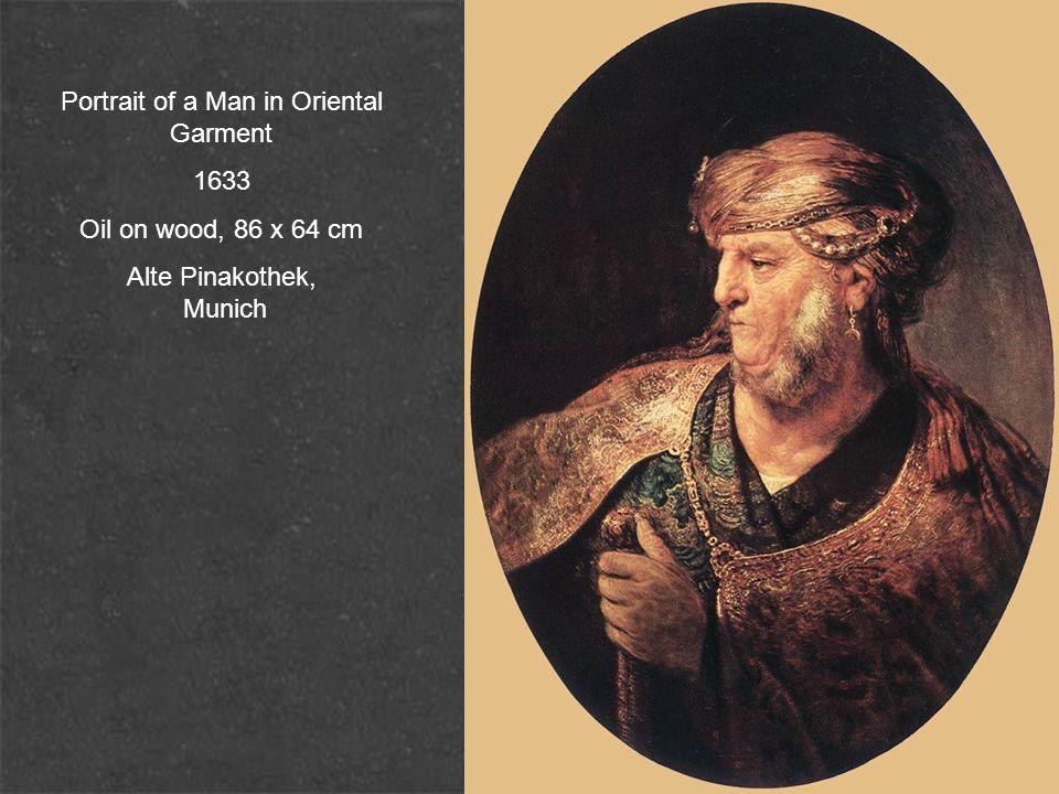 Portrait of a Man in Oriental Garment 1633 Oil on wood, 86 x 64 cm Alte Pinakothek, Munich