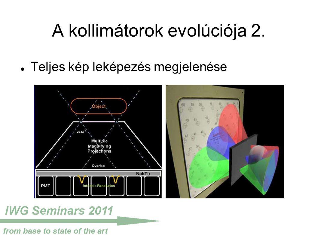 A kollimátorok evolúciója 2. Teljes kép leképezés megjelenése