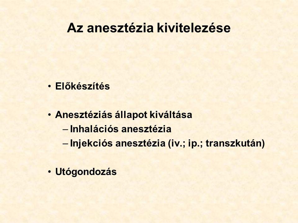 Narkózis II.