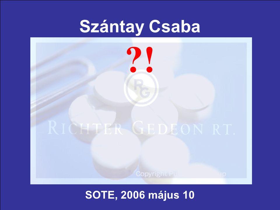 Szántay Csaba ! SOTE, 2006 május 10