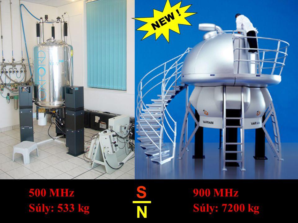 SNSN 500 MHz Súly: 533 kg 900 MHz Súly: 7200 kg NEW !