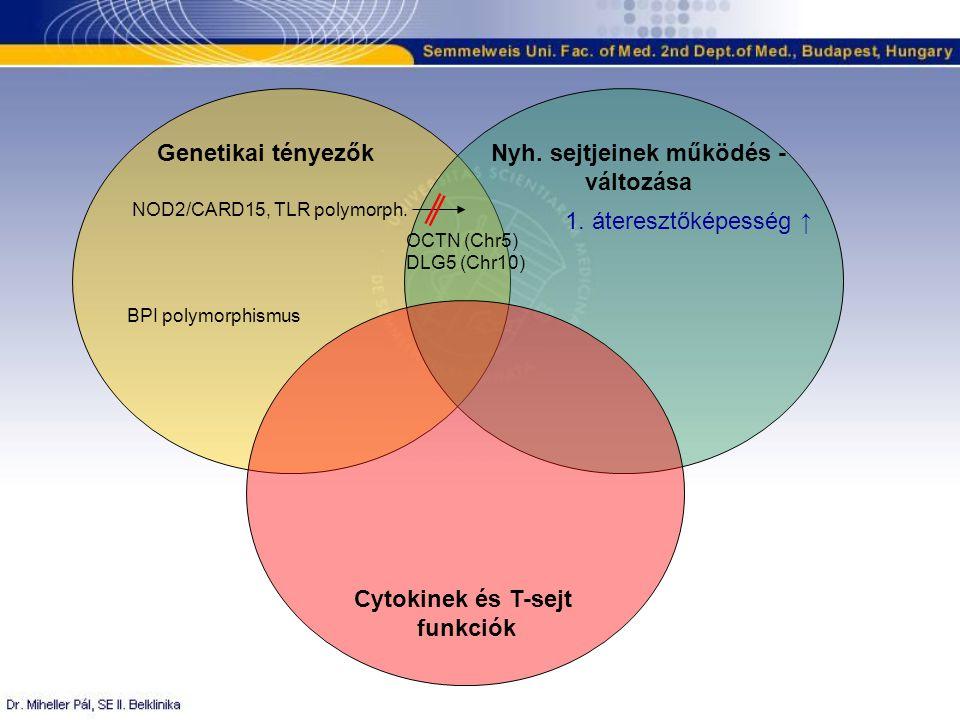 Genetikai tényezőkNyh.