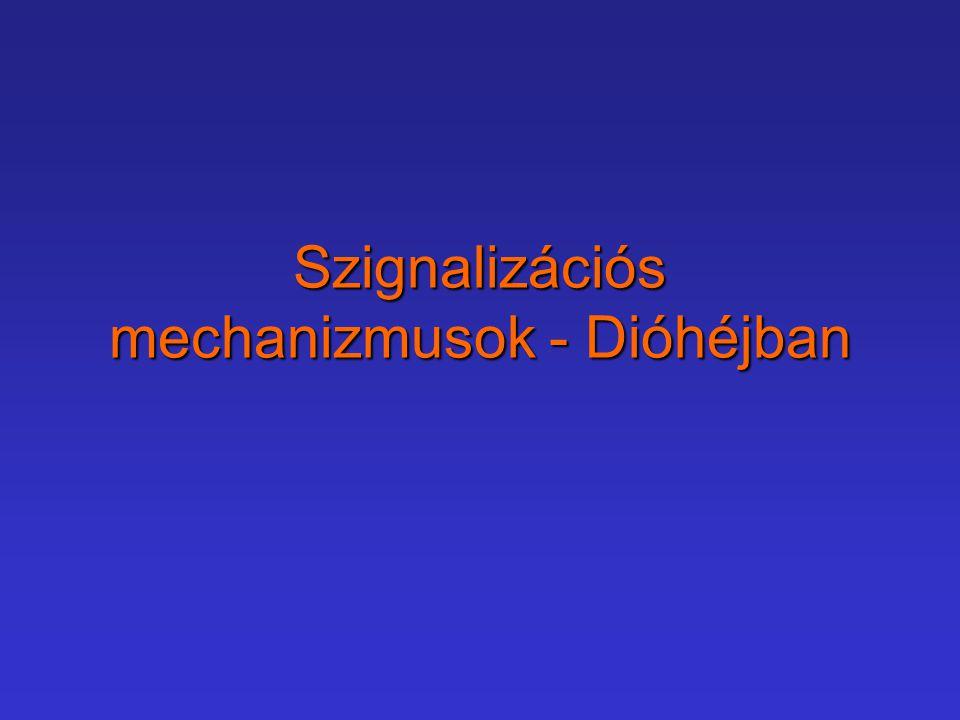 Szignalizációs mechanizmusok - Dióhéjban