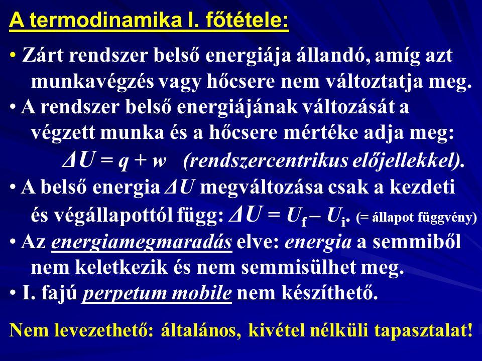 A termodinamika I.