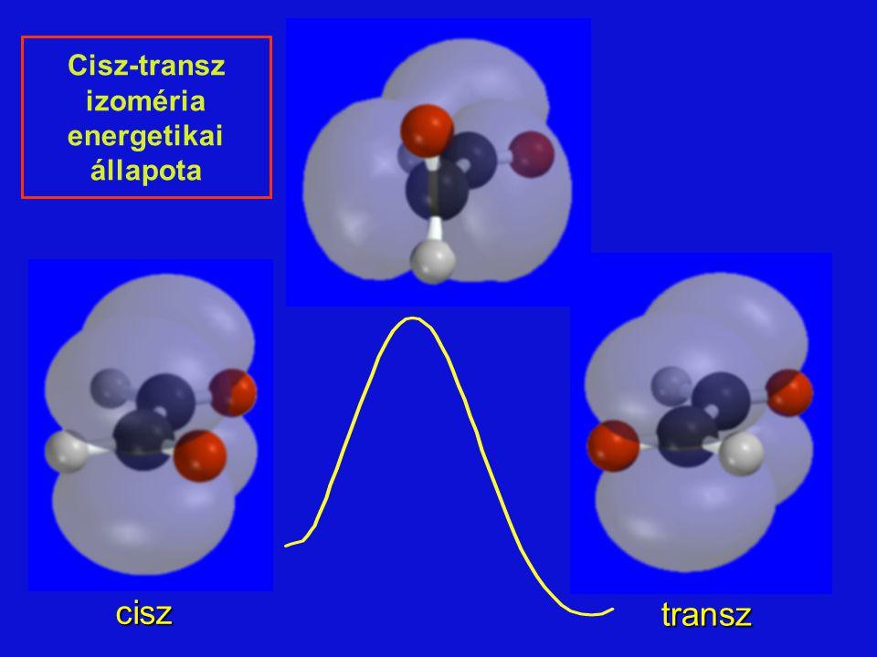 transz cisz Cisz-transz izoméria energetikai állapota