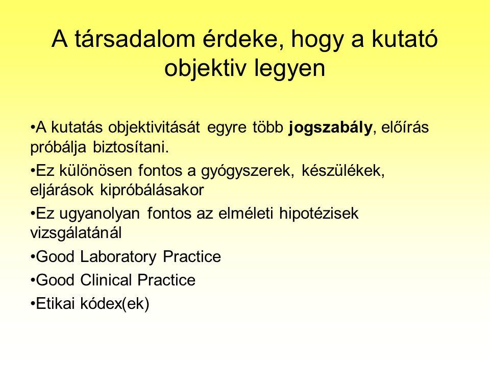 Hypotézisek Précsényi István: Alapvető kutatástervezési, statisztikati,….