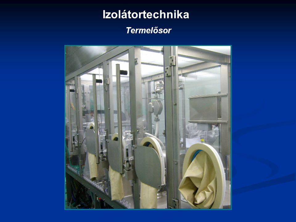 Izolátortechnika Termelősor
