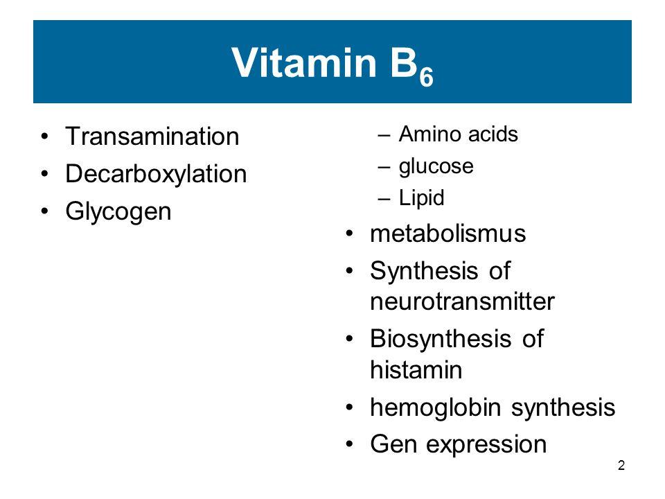 13 Histamine
