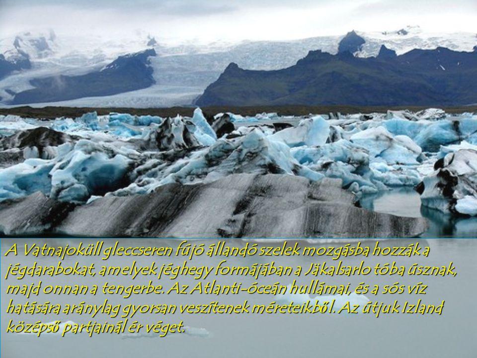 A Pu'uO'o vulkán A lávafolyamok felülete viszonylag rövid id ő alatt megszilárdul, de a belseje izzó marad és állandó mozgásban van.