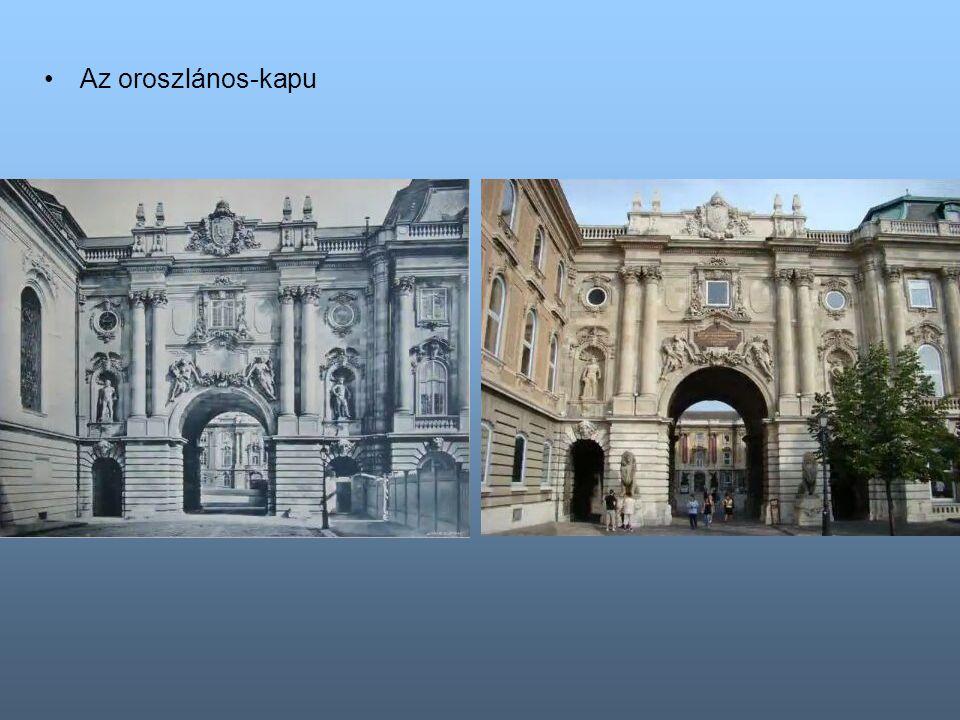 A volt távirdahivatali kapu. Ma a Budapest Történeti Múzeum bejárata
