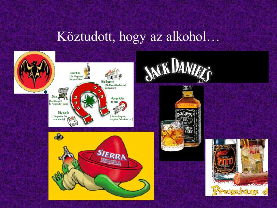 Köztudott, hogy az alkohol…