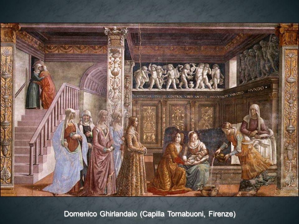 Domenico Ghirlandaio (Capilla Tornabuoni, Firenze)