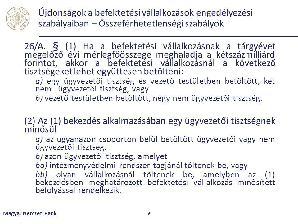 Formanyomtatványok MNB rendelet – Tpt., Bszt., Kbftv.