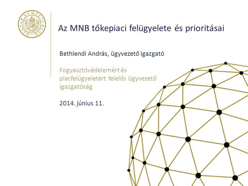 Stabilitás és bizalom: az MNB a pénzügyi felügyelet élén 2