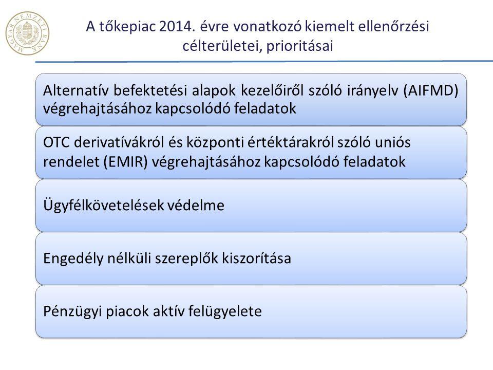 A tőkepiac 2014.