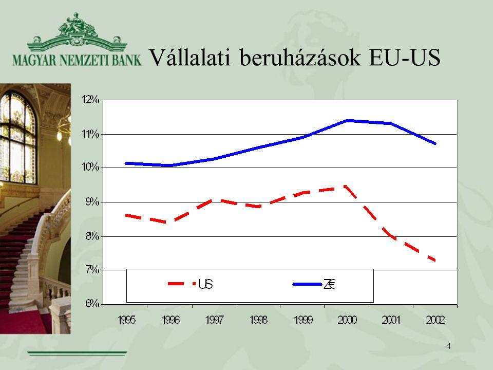 4 Vállalati beruházások EU-US