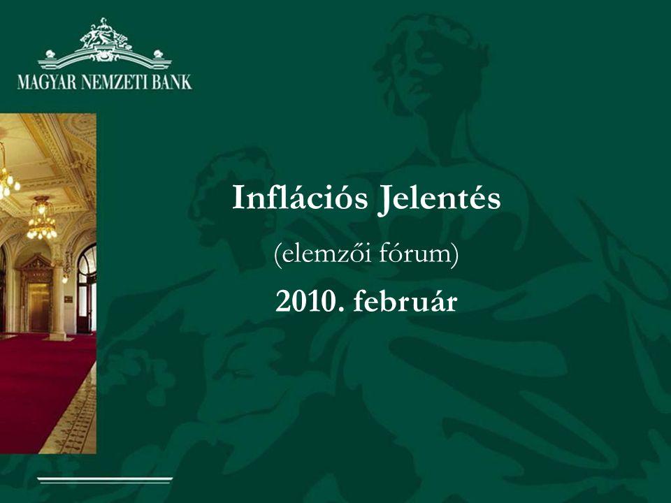 Inflációs Jelentés (elemzői fórum) 2010. február