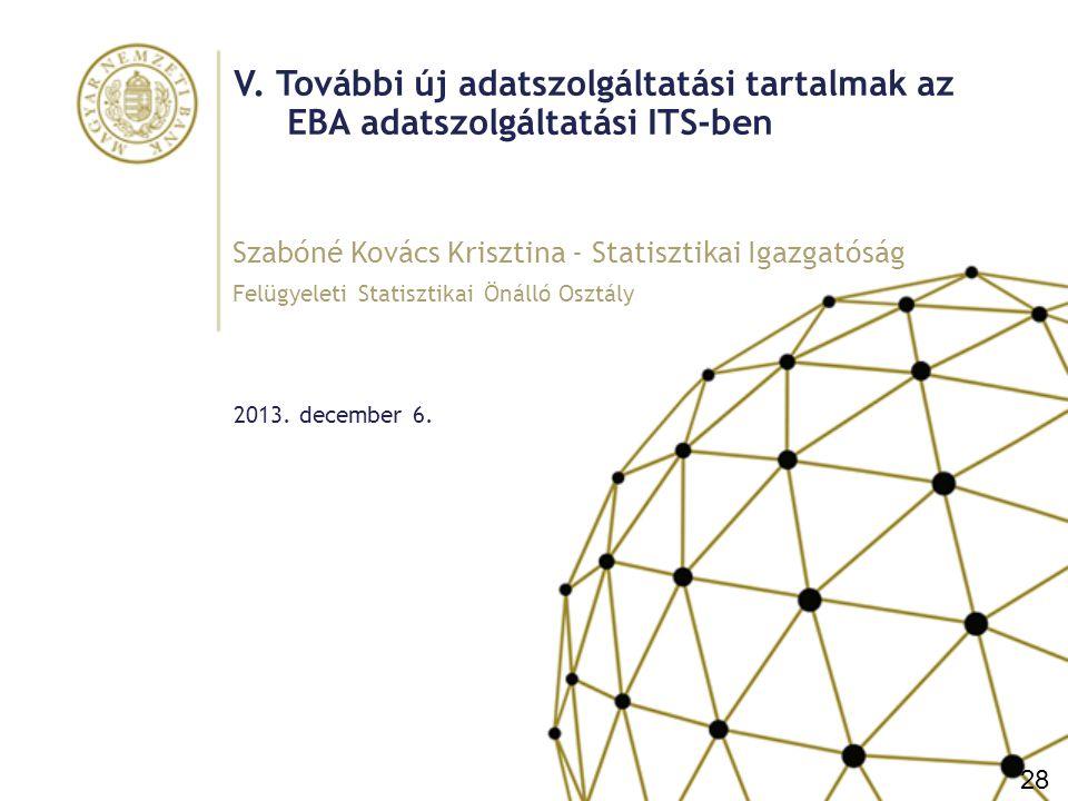 Vázlat I.Ingatlanfedezetű kitettségekből származó veszteségek (IP Losses) II.Likviditási adatszolgáltatás (alapja: Bázel III ajánlás: http://www.bis.org/publ/bcbs238.pdf ) a.Likviditásfedezeti követelmény (LCR) b.Nettó Stabil Forrásellátottsági mutató (NSFR) Új elem 2015-től: További likviditási adatszolgáltatás (lejárati összhang, finanszírozás koncentráció partnerenként, terméktípusonként, finanszírozási költség, finanszírozás megújítása) III.Tőkeáttétel 29