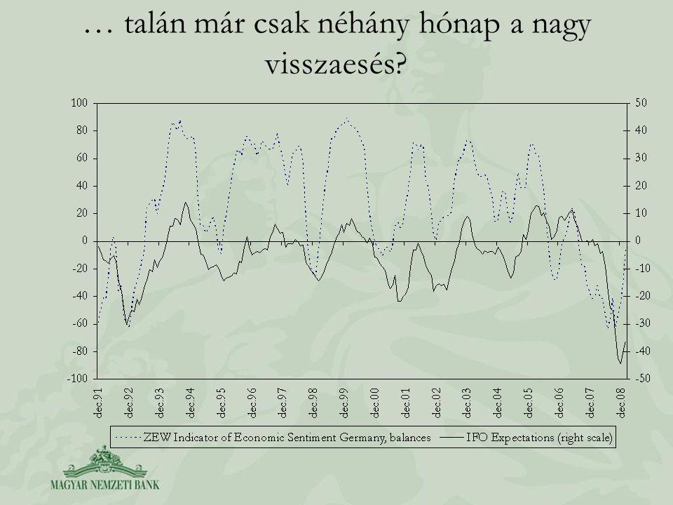 A recesszió érdemben csökkentheti az importált inflációs nyomást…