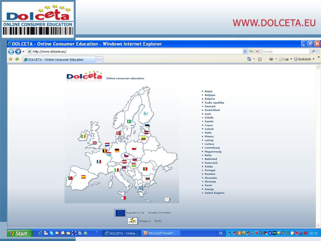 A Dolceta története 1.szakasz – 2003. dec. – 2006.