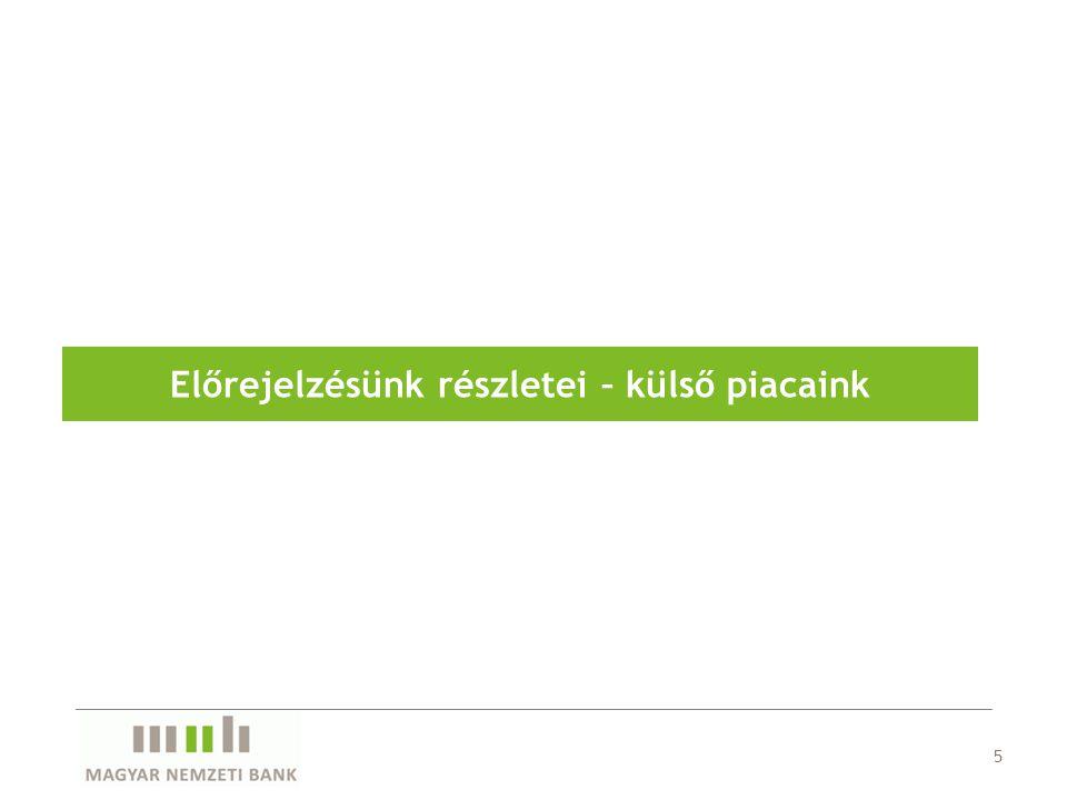 26 A keresleti oldali infláció nyomás változatlanul alacsony a gazdaságban Inflációs Jelentés 2011.