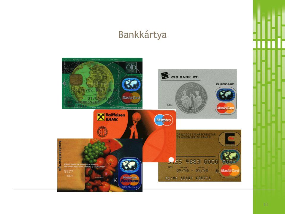 Bankkártya 13