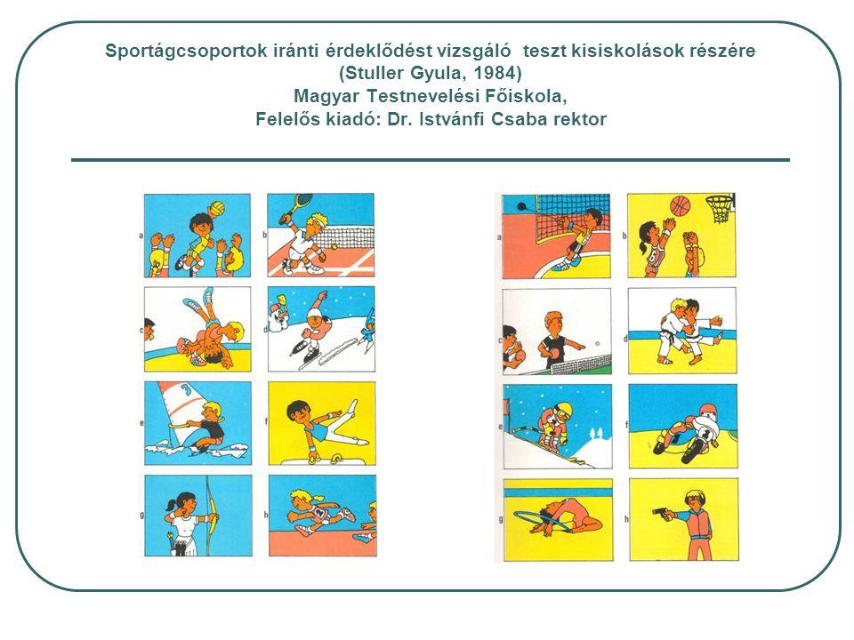 A STAR-12 (Budapest, 1991) sportpszichológiai előadásaiból (II) Kudar,K., & Petrekanits, M.: Vita maxima treadmill ergometric test performance, neuroticism, and anxiety in athletes of different sports and levels of fitness.
