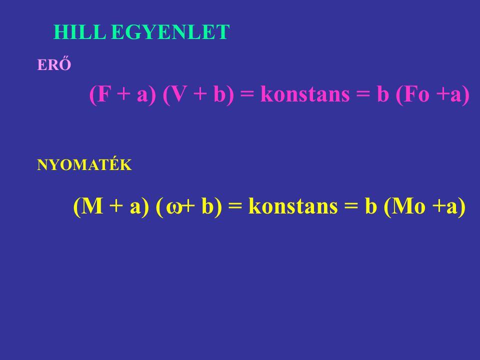 Teljesítmény – sebesség görbe P = F · v (Nm/s, Watt) P = M · ω (Nm rad/s, Watt)