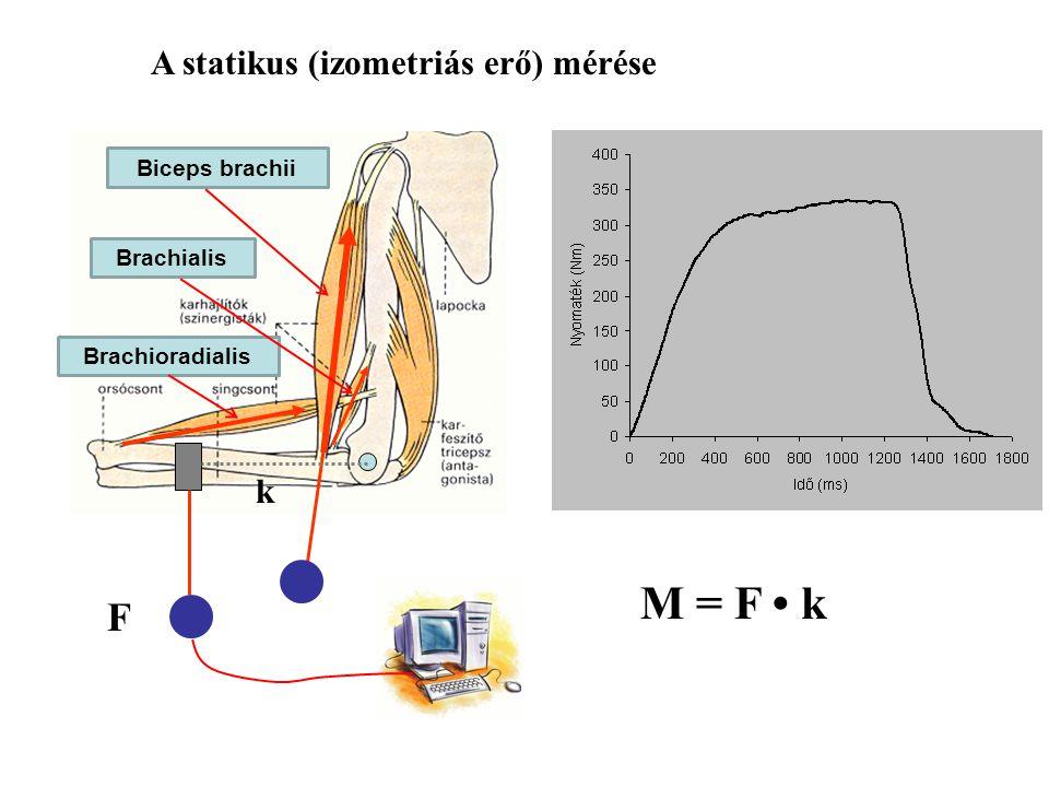 r m m= 5 kgr= 0,2 m t= 0,05 s  = 45  = 0,785 rad  = 900  /s = 15,7 rad/s Forgatónyomaték (M) Dinamikus körülményben