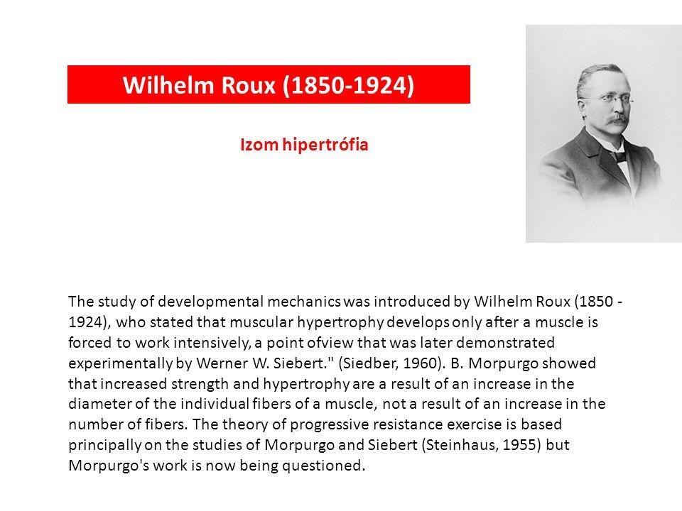 Adolf E. Fick (1829-1901) Izometriás és izotóniás kontrakció The late nineteenth and early twentieth centuries were most productive of physiologic stu