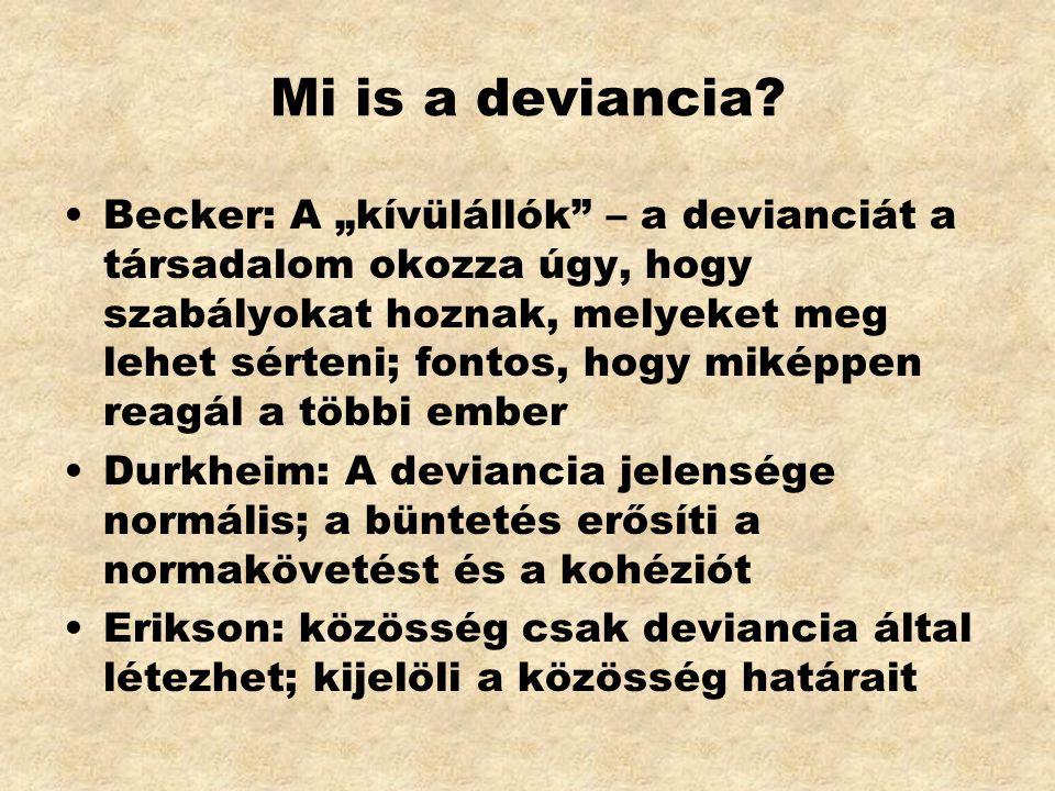 Mi is a deviancia.