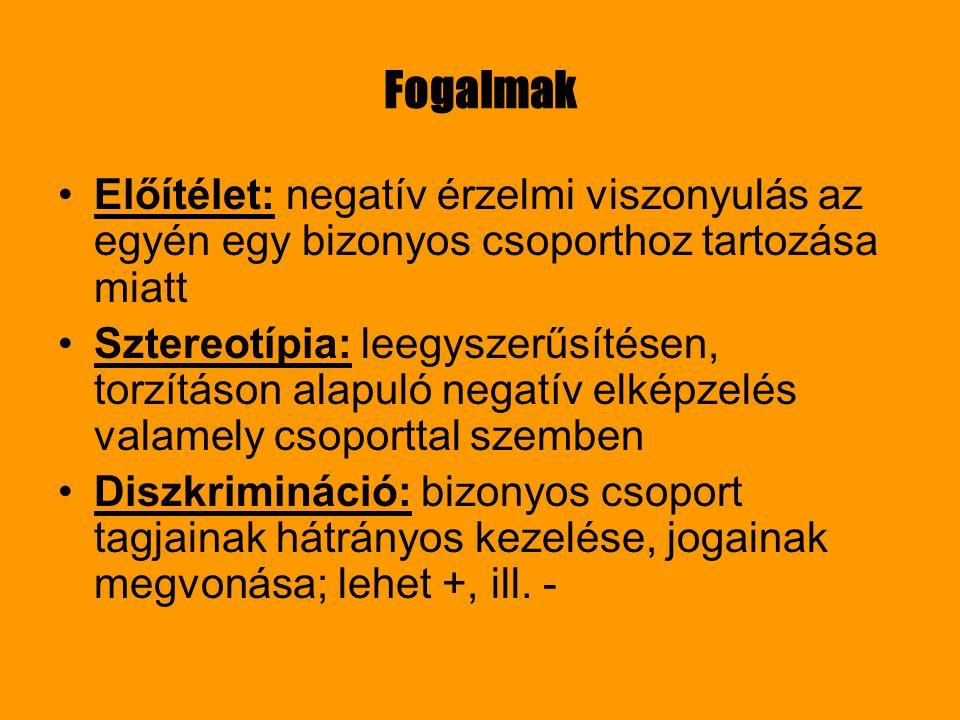 Cigányság Egyetlen hivatalosan elismert etnikai kisebbség Magyarországon Ki a cigány.