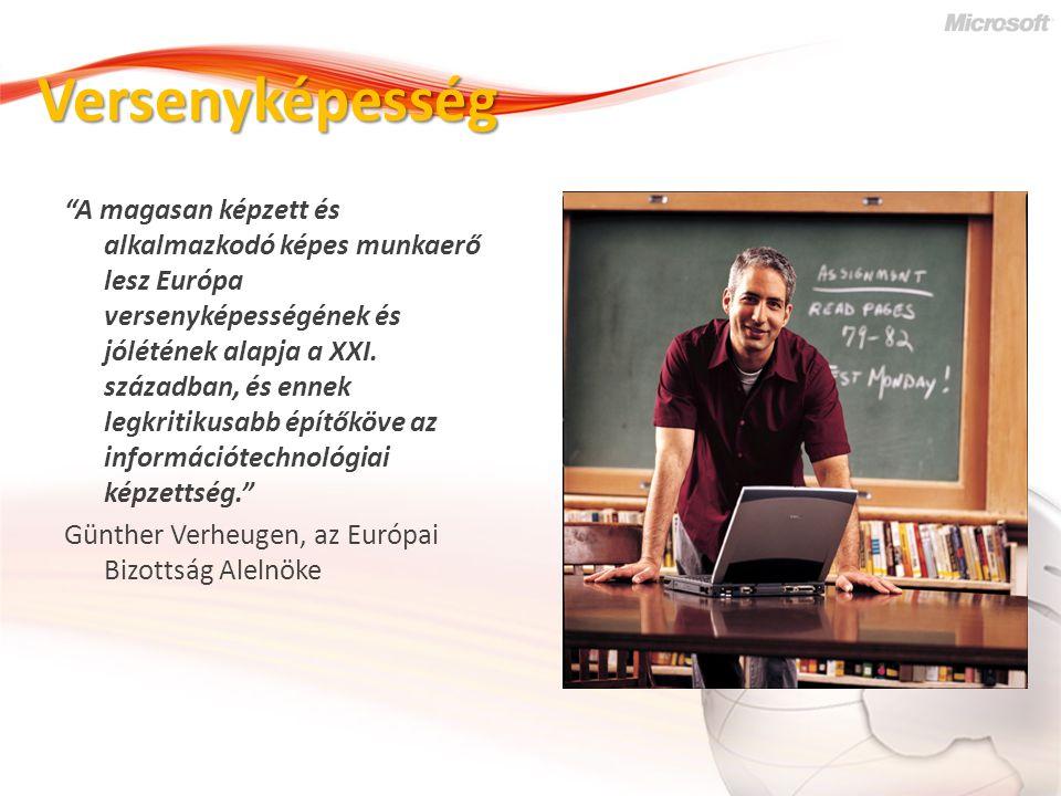 Informatika - Innováció Az EU a tudást és az innovációt nevezte meg a folyamat révén 2010- ig kiteljesedő Európai Információs Társadalom motorjának.