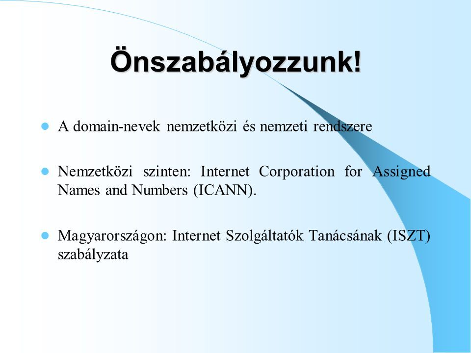 A szerzői jog forrásai – Nemzetközi szerződések (BUE, WIPO-szerződések) – Uniós jog (INFOSOC-irányelv) – Nemzeti jogalkotás: szerzői jogról szóló 1999.