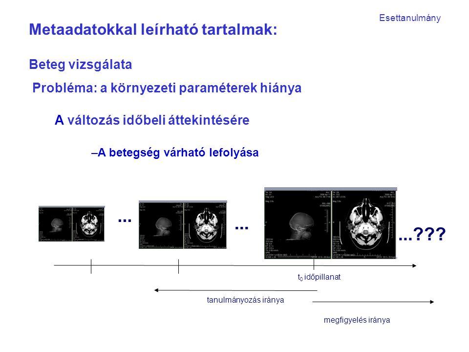 –A betegség várható lefolyása t 0 időpillanat tanulmányozás iránya...