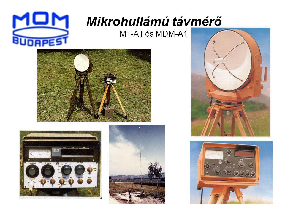 8 Mikrohullámú távmérő MT-A1 és MDM-A1