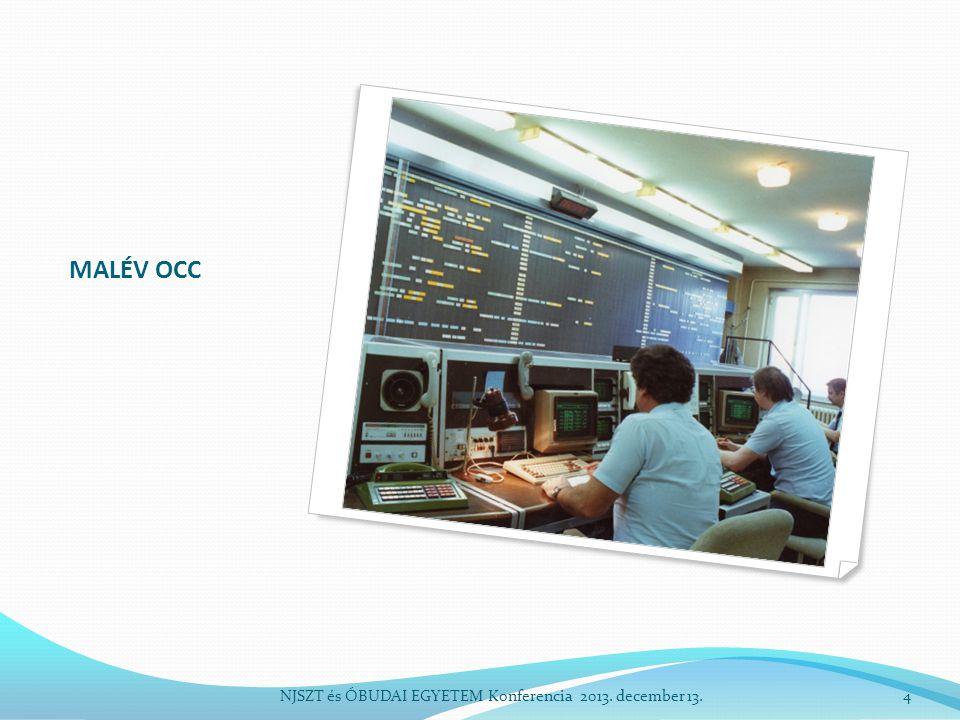 Járatinformációs képernyő NJSZT és ÓBUDAI EGYETEM Konferencia 2013. december 13.5