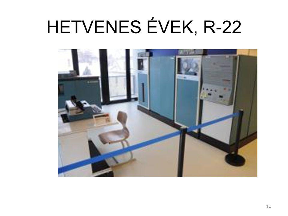 11 HETVENES ÉVEK, R-22